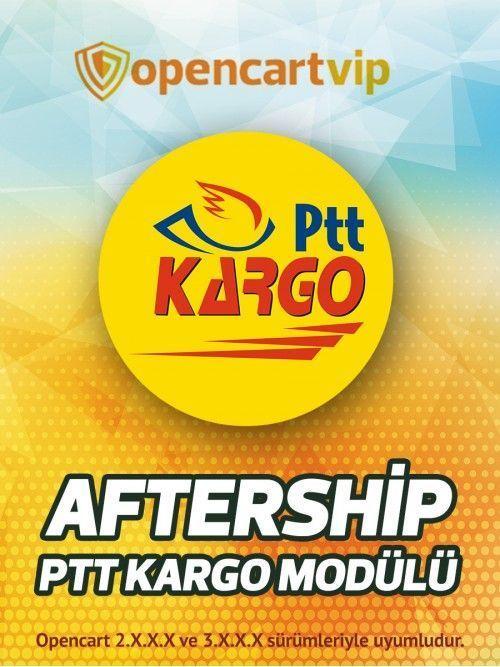 Aftership PTT Kargo Modülü