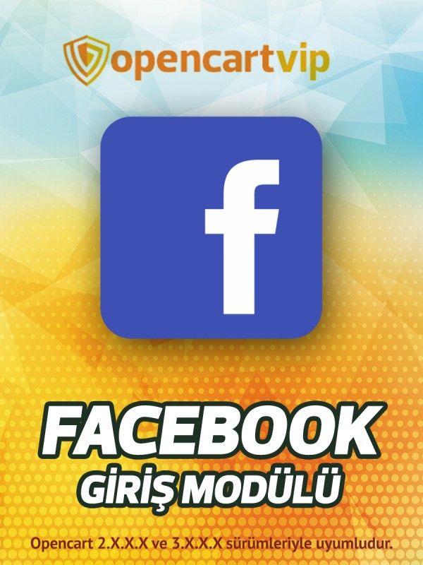 Facebook Giriş Modülü