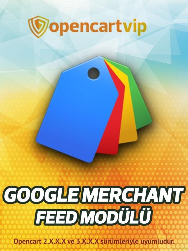 Google Merchant Feed Modülü