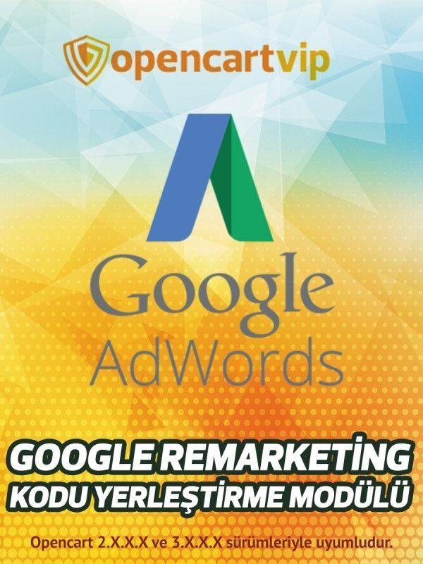 Google Remarketing Kodu Yerleştirme Modülü