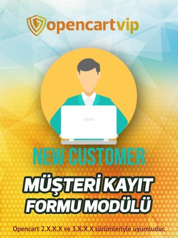Müşteri Kayıt Formu Modülü