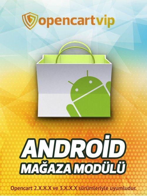 Opencart Android Mağazası Modülü