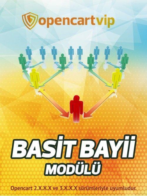 Opencart Basit Bayi Modülü