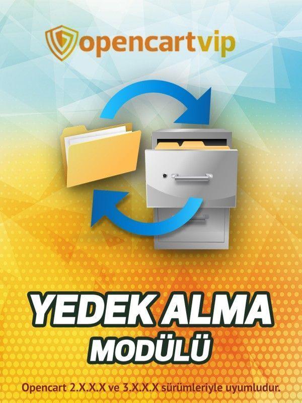 Yedek Alma Modülü