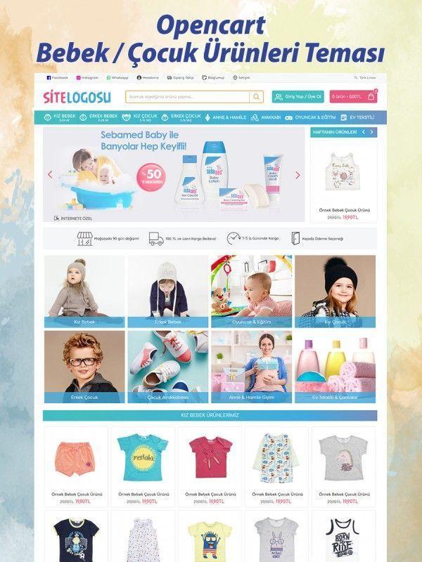 Bebek / Çocuk Ürünleri Teması