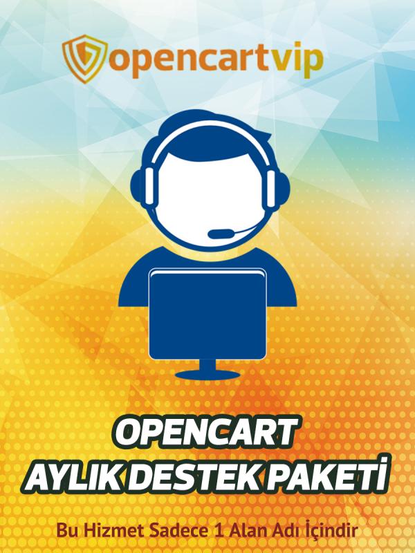 Opencart Aylık Destek Paketi