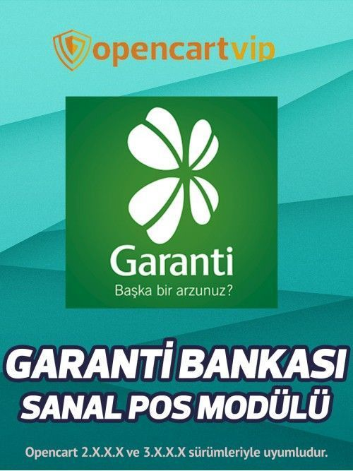 Garanti Bankası Sanal Pos Modülü