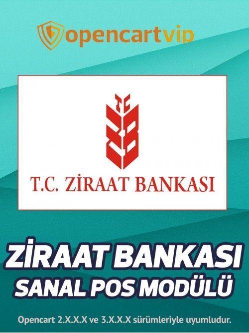 Ziraat Bankası Sanal Pos Modülü