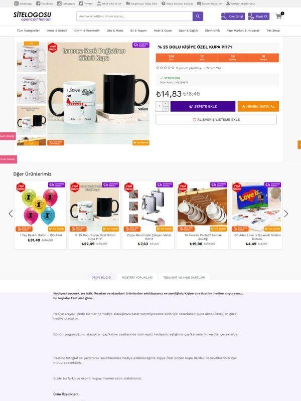 Opencart Alışveriş Teması