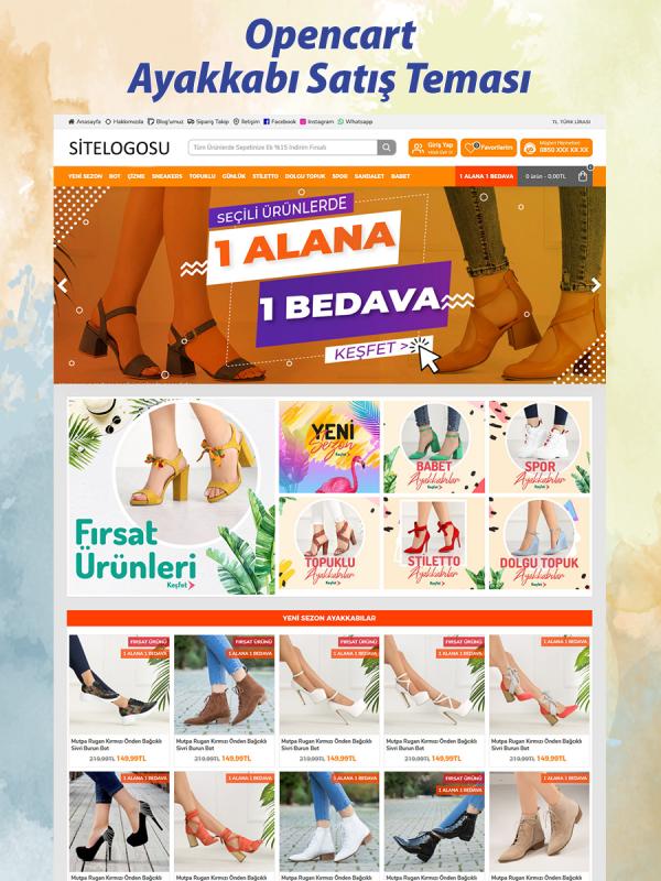Ayakkabı Satış Teması