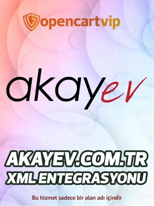 Akayev.com.tr Opencart Xml Entegrasyonu