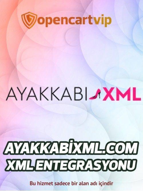 Ayakkabixml.com Opencart Xml Entegrasyonu