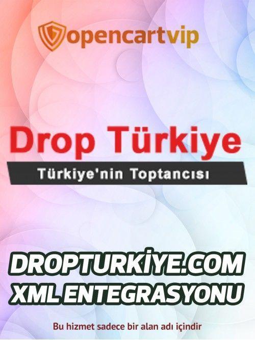 Dropturkiye.com Opencart Xml Entegrasyonu