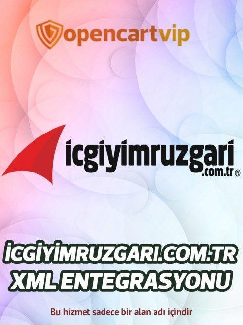 İcgiyimruzgari.com.tr Opencart Xml Entegrasyonu