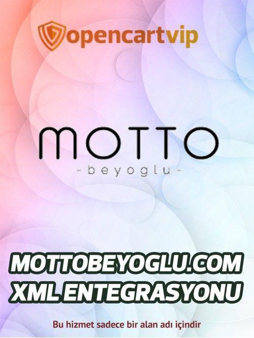 Mottobeyoglu.com Opencart Xml Entegrasyonu