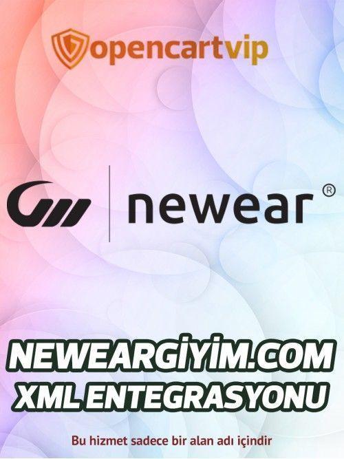 Neweargiyim.com Opencart Xml Entegrasyonu