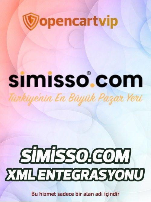 Simisso.com Opencart Xml Entegrasyonu