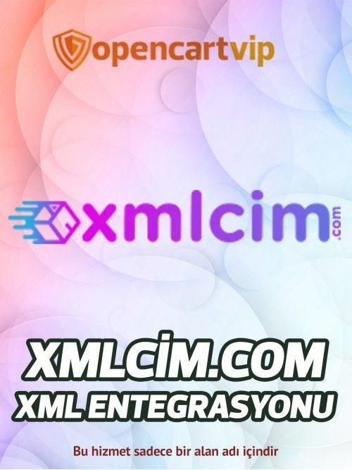 Xmlcim.com Opencart Xml Entegrasyonu